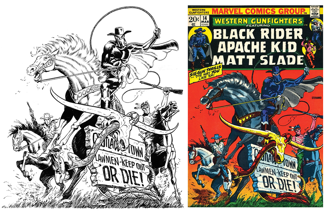 Comic Book Cover Tutorial Illustrator ~ Steranko covers