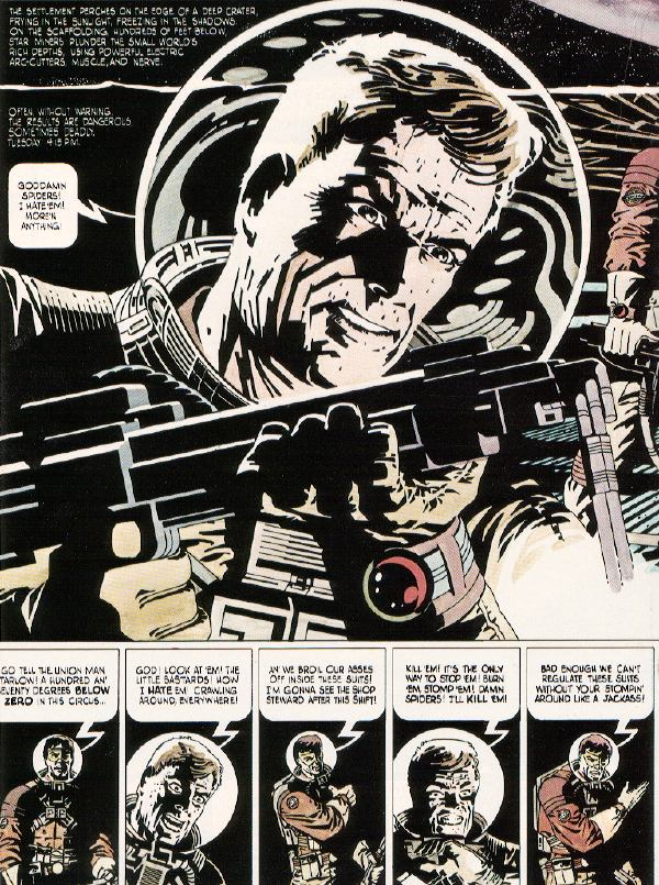 steranko  outland  pages 2 and 3